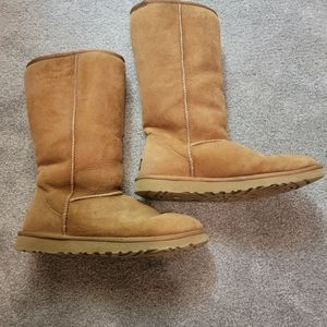 UGG Tall Boots and Care Kit